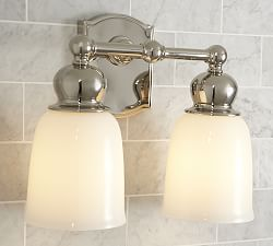 wall sconces wall lamps pottery barn. Black Bedroom Furniture Sets. Home Design Ideas
