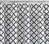 Marlo Organic Shower Curtain, Navy Blue