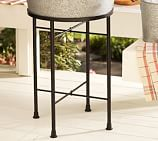 Party Bucket/Round Tray Iron Stand