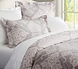 Alana Duvet Cover, Twin, Charcoal
