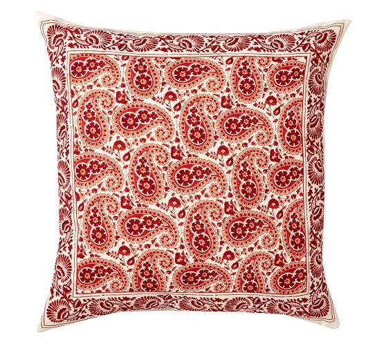 Annika Paisley Outdoor Pillow, 24