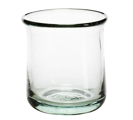 Casa Recycled Glass Double Old-Fashioned, Set of 6