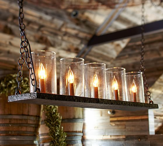 Candle Chandelier Pottery Barn Chandeliers Design – Linear Candle Chandelier