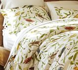 Spring Sparrow Duvet Cover, Twin