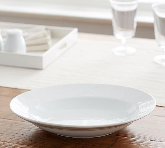 Great White Oval Veggie Bowl, Medium