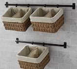 Hannah Wall Basket Large Storage System with 1 Basket