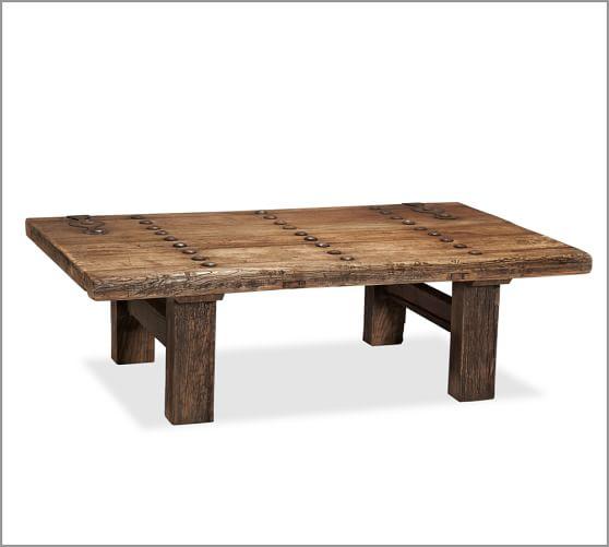 Hastings Reclaimed Wood Rectangular Coffee Table