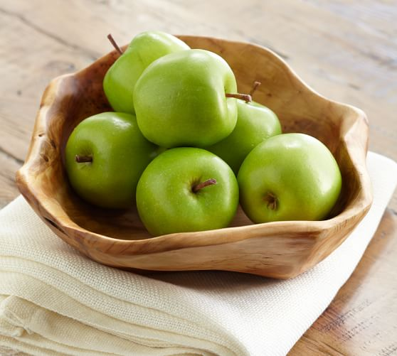 Green Apple Vase Filler, Set of 6