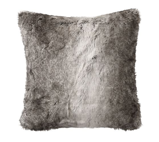 Faux Fur Pillow Cover, 26