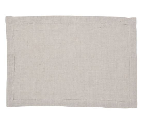 PB Classic Placemat, Set of 4 - Flax