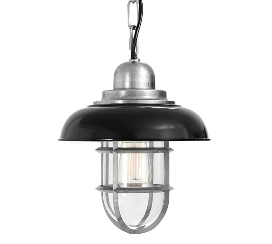 Avalon Indoor/Outdoor Pendant, Black