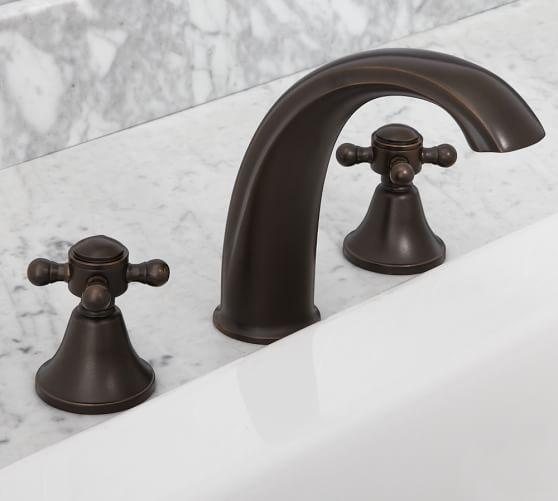 Warby Roman Tub Faucet, Antique Bronze finish