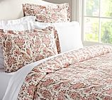 Octavia Paisley Duvet Cover, Twin, Pink Multi
