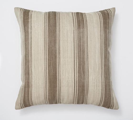 Tyler Stripe Floor Pillow Cover, 30