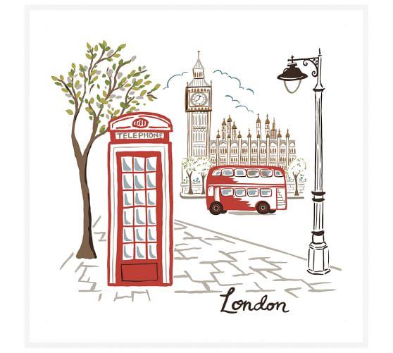 London, 48 x 48