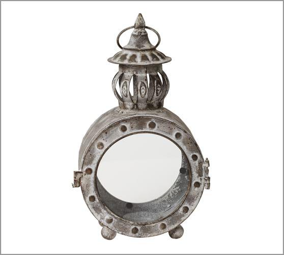Graham Metal Lantern, Small Oval