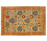 "Arzu Studio Hope Prevail Hand-Knotted Rug, 6'0""x9'3"""