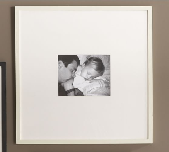 Wood Gallery Oversized Picture Frame, 25 x 25