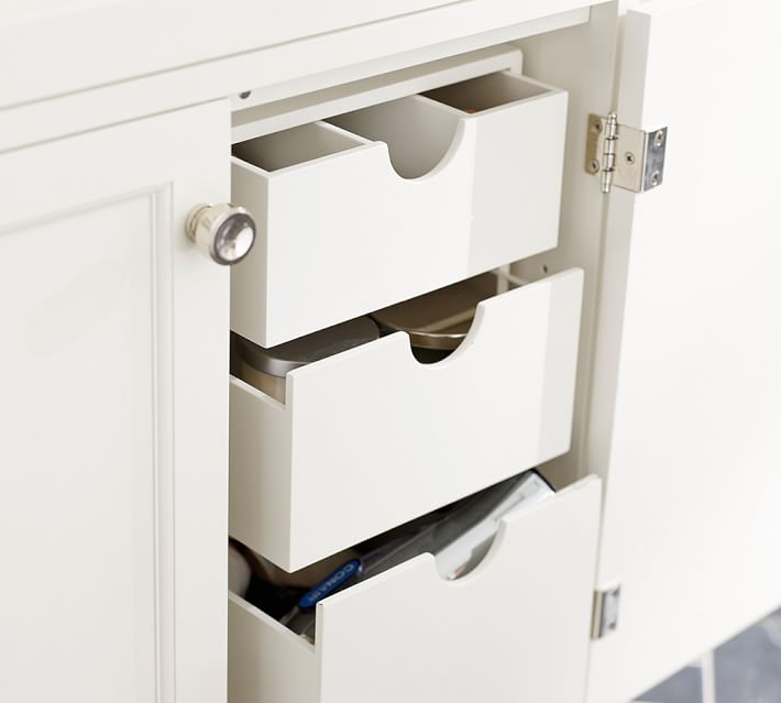 Compact Bathroom Storage Cupboard