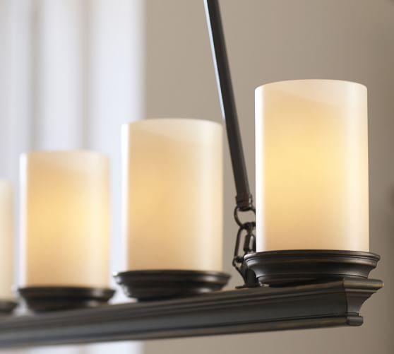 Veranda Linear Chandelier – Linear Candle Chandelier