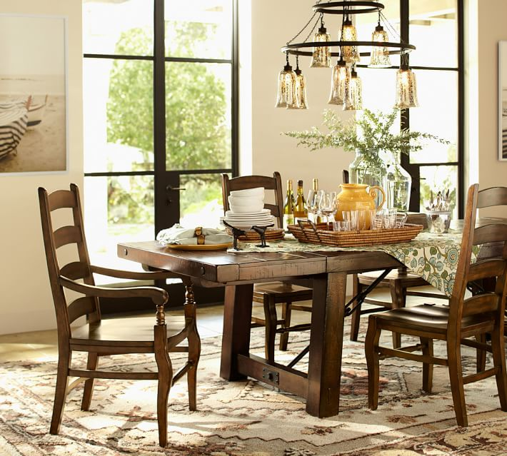 Dining Room Cool Lighting Furniture Pottery Barn