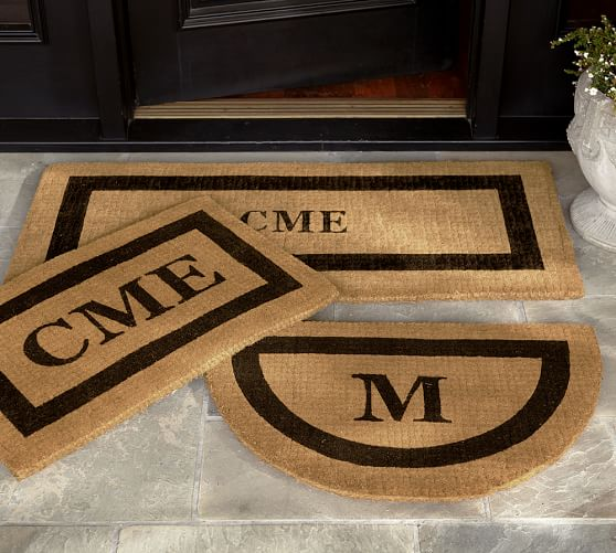 Monogrammed Outdoor Rugs Home Decor