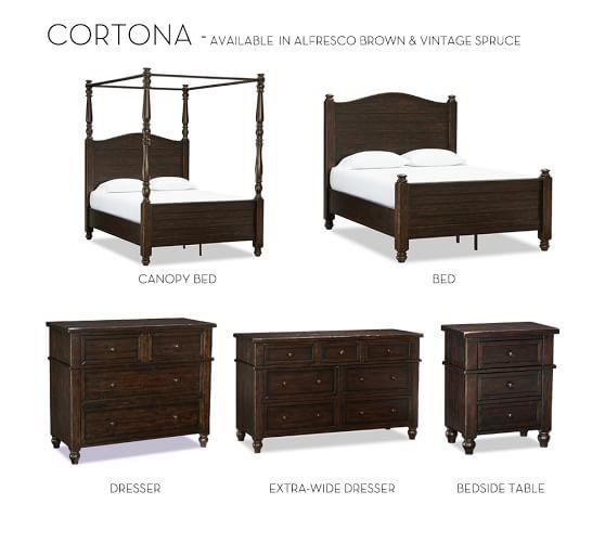 Cortona Bed Pottery Barn