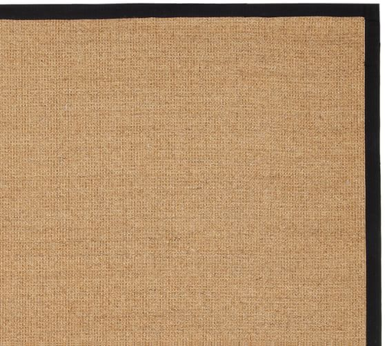 Color Bound Natural Sisal Rug