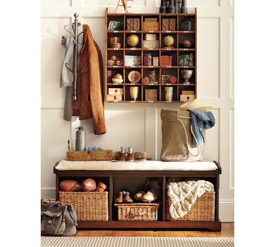 Gone Home Foyer Key : Wall mount coat rack pottery barn