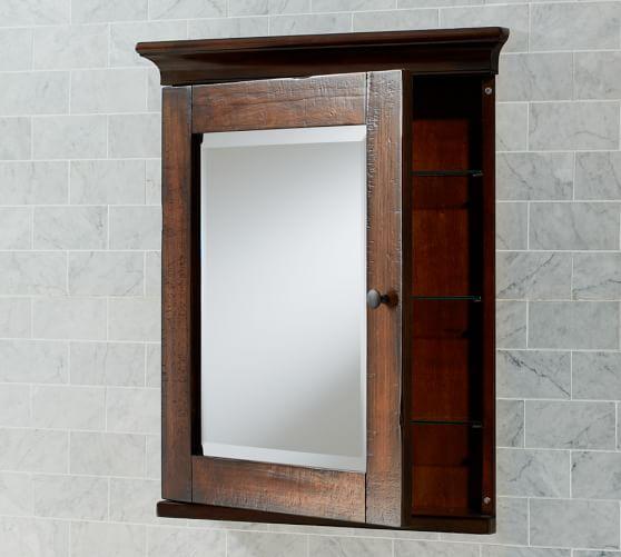 Wood Medicine Cabinet No Mirror