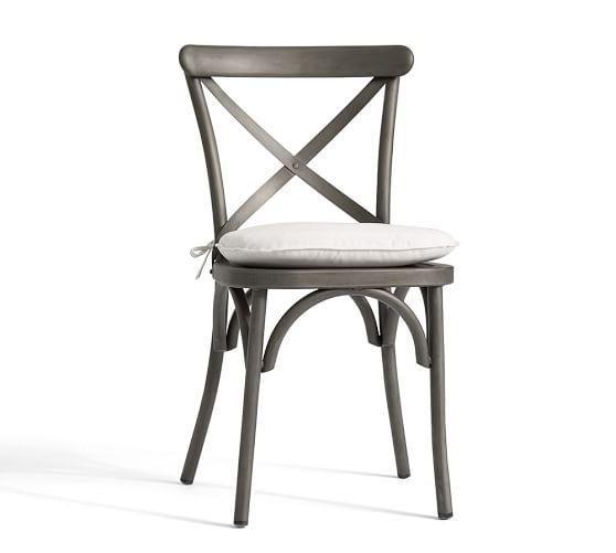 Sunbrella Bistro Chair Barstool Cushion – White Chair Pad
