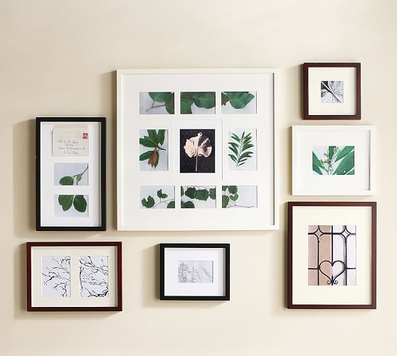 Wood Gallery Multiple Opening Frames Pottery Barn