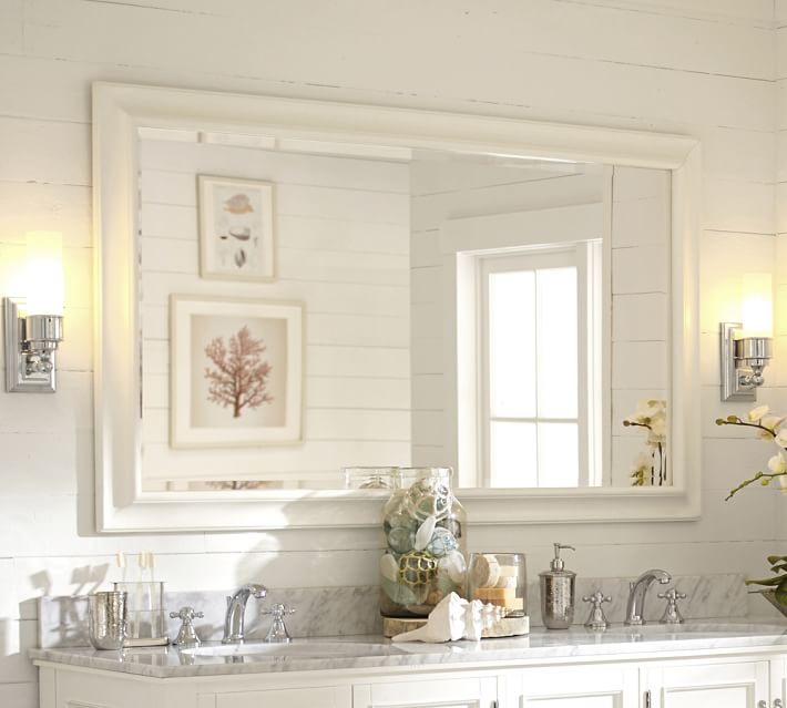 sonoma double-width mirror | pottery barn