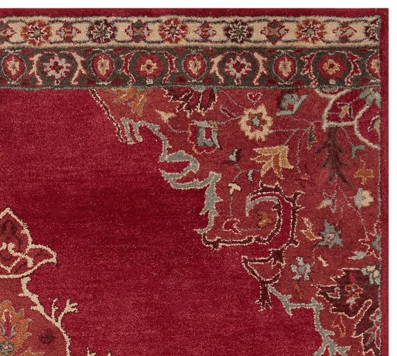 Bryson Persian-Style Rug - Red