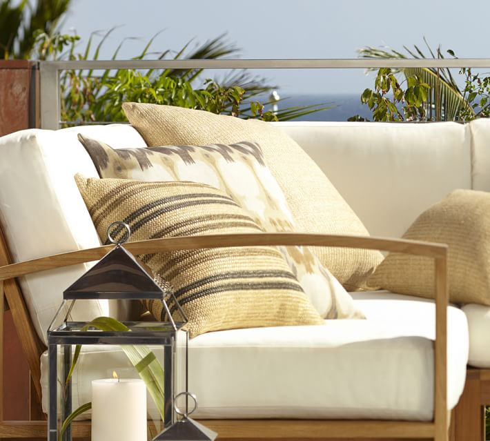 Madera Teak Outdoor Furniture Cushions | Pottery Barn