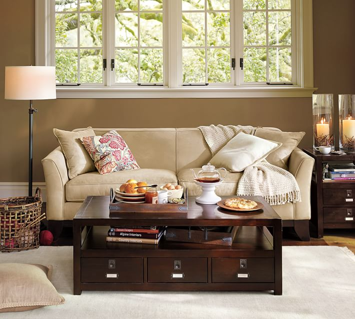 Greenwich Upholstered Sofa | Pottery Barn