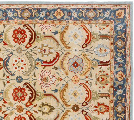 Franklin Persian Style Rug | Pottery Barn. Alternate View