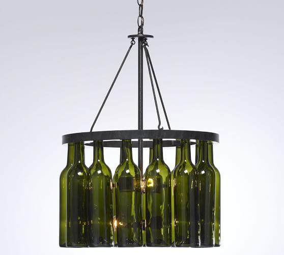 Wine Bottle Chandelier – Wine Bottle Chandelier
