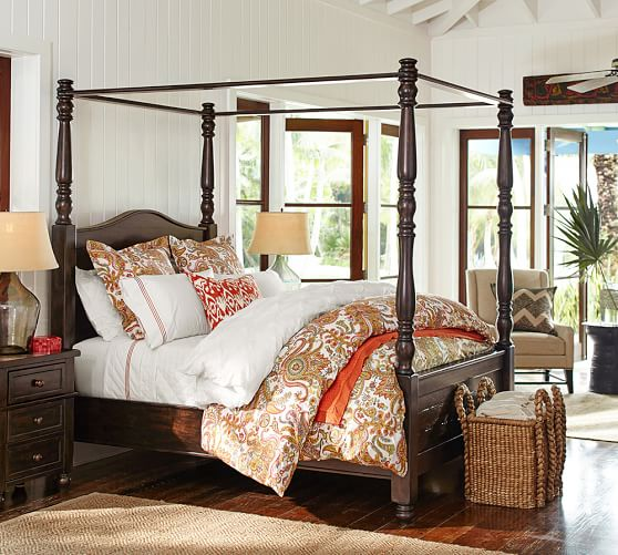 Scroll to Previous Item. Cortona Canopy Bed   Dresser Set   Pottery Barn