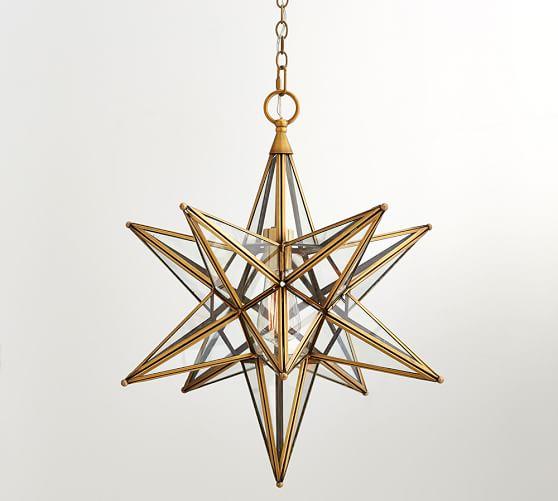 Glass Star Pendant