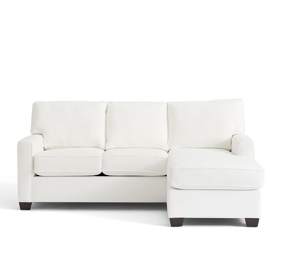 buchanan square arm upholstered sofa with reversible