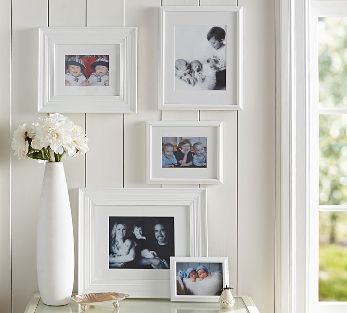 eliza gallery frames in a box gilt pottery barn