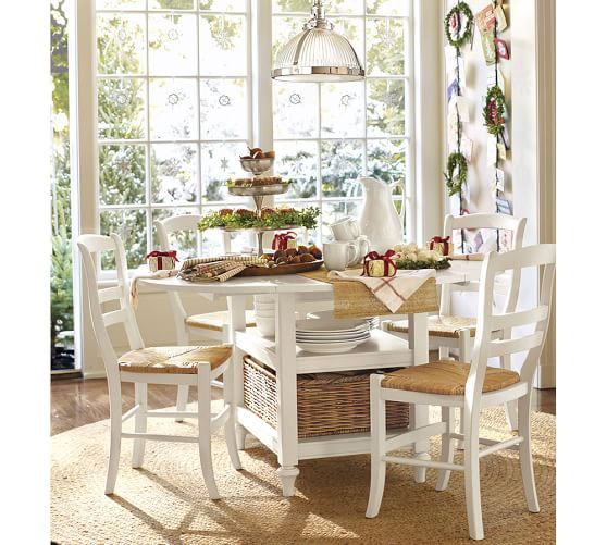 Shayne Table Amp Isabella Chair 5 Piece Dining Set Pottery