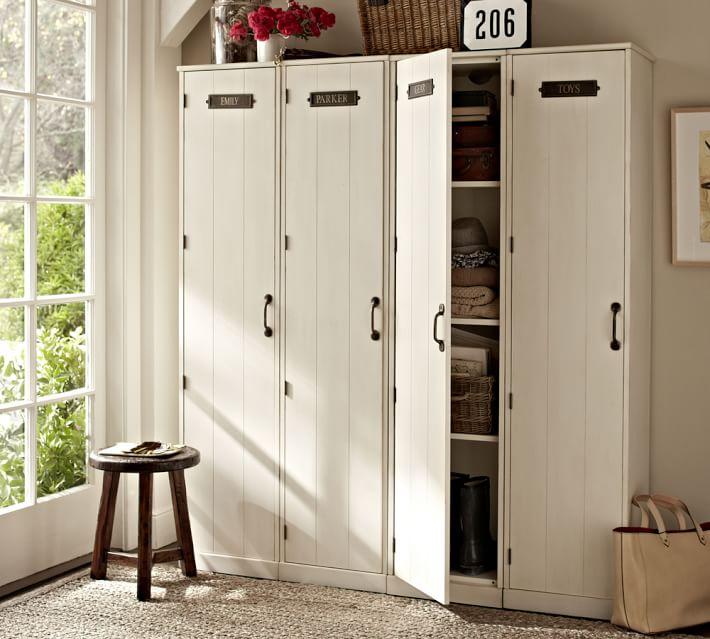 entryway storage cabinet white