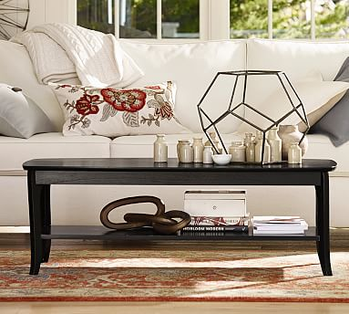 Designer Love Rectangular Coffee - Pottery barn chloe end table