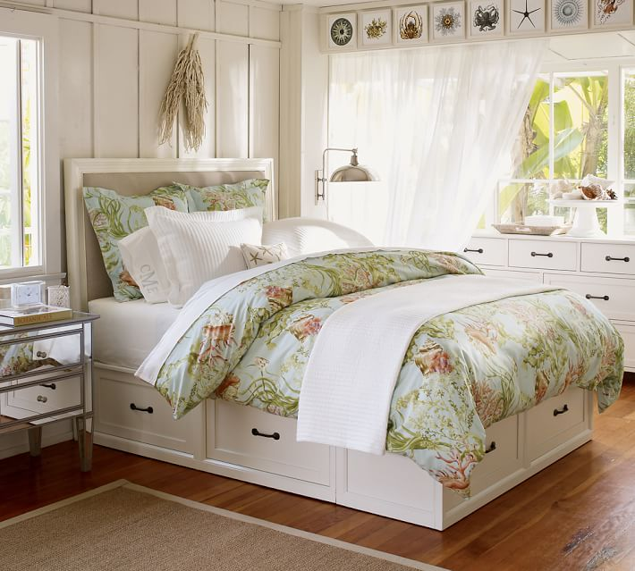 Stratton Storage Platform Bed with Drawers Bed   Dresser Set   Pottery Barn. Stratton Storage Platform Bed with Drawers Bed   Dresser Set