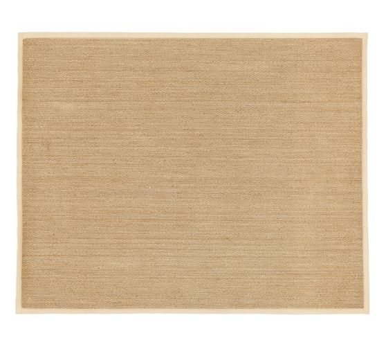 Color Bound Seagrass Rug Natural