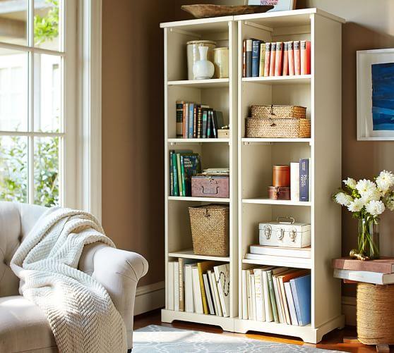 Samantha Narrow Bookcase   Pottery Barn