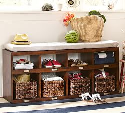 Entryway Amp Storage Benches Pottery Barn