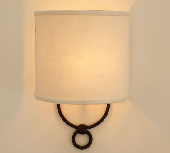 Pottery Barn Carriage Lamp: Francis Sconce